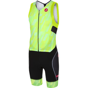 Castelli Free Sanremo Sleeveless Suit Men pro green/black
